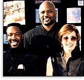 Rev. Alfreddie Johnson, Rev. Fred Shaw and Actress Anne Archer